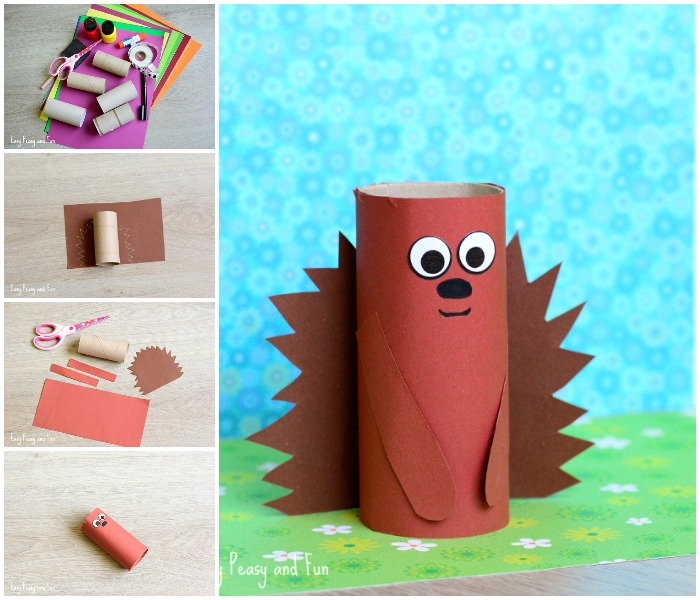 paper-roll-hedgehog-craft-for-little-ones