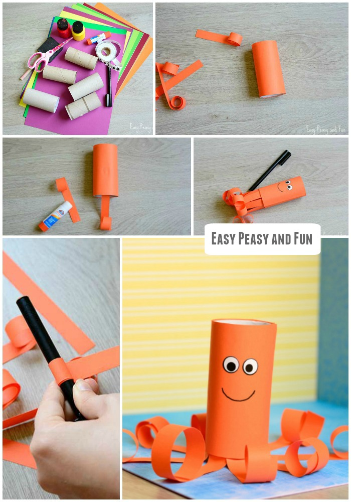 toilet-paper-roll-octopus-craft-for-kids